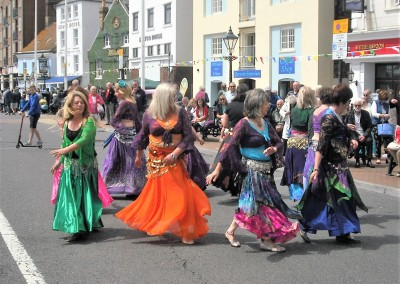 Bahara Belly dancers