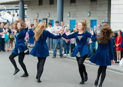 Yetminster Irish dancers